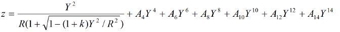 Acylindrical Lens Equation