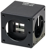 BS127CAM Beamsplitter Adapter Mounted in Cage Cube