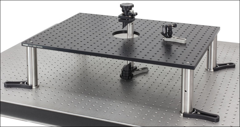 Solid Aluminum Breadboards With Access Aperture