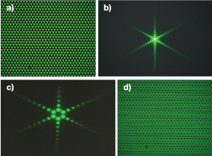 Babinet's Principle Demonstrated with Fourier Optics