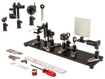 Fourier Optics Kit with Laser Illumination