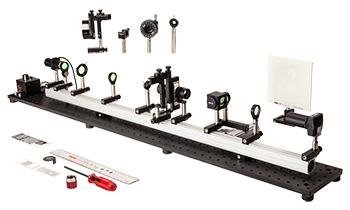 Rail-Mounted Fourier Optics Kit