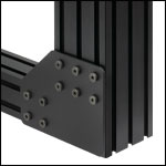 Gusset Plate for Construction Rails