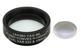 UVFS Plano-Convex Lenses, 1064 nm, 532 nm