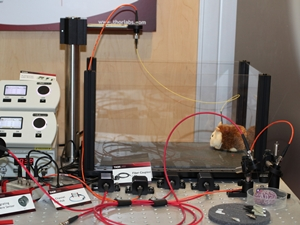 Optogenetics Displayed at a Tradeshow