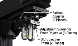 DIC Objective Prism in Nosepiece