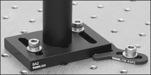 RSPC Mounted Directly to Optical Table