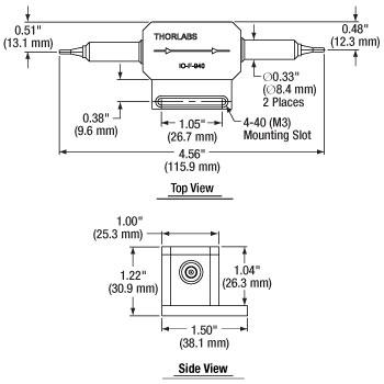 IO-F-940 Mechanical Drawing