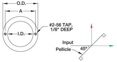 Drawing of Pellicle BS