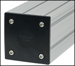 End Plate on 95 mm Construction Rail