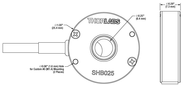 Thorlabs Com Diaphragm Shutters With Controller