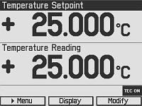 Measurement Screen
