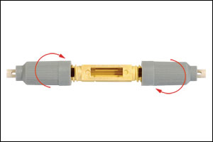 Fiber Splice without 900 micron ends