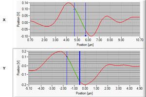 Position Calibration Screenshot