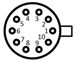 10 Pin Laser Diode Socket
