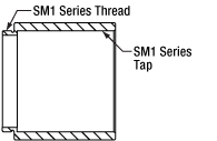Cross Section of SM-Series Lens Tube