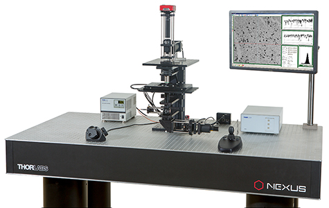 Through the Use of Fixed Arm Attachments, a Selection of Thorlabs' Optomechanical Components Are Integrated Into this Cerna<sup>®</sup> System