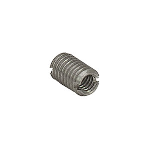AE8E6M - Dual Threaded Adapter with Internal 8-32 Threads and External M6 x 1.0 Threads