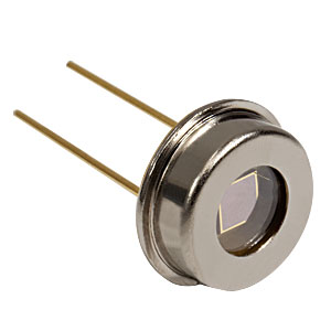 FGAP71 - GaP Photodiode, 1 ns Rise Time, 150-550 nm, 2.2 mm × 2.2 mm Active Area