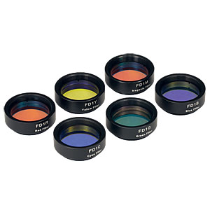 FD1D - Dichroic Color Filter Kit, Complete Set of 6 Ø1in Filters