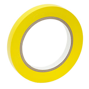 VTY-050 - Yellow Vinyl Tape, 1/2in Wide x 108 Feet Long