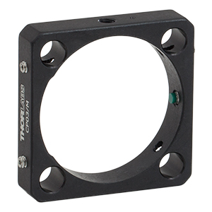 CP03/M - Ø35 mm Aperture, 30 mm Cage Plate, 0.35in Thick, M4 Tap