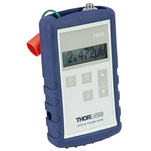 PM20C - Fiber Power Meter, 800 nm - 1700 nm, -60 dBm to +13 dBm (1 nW - 20 mW)