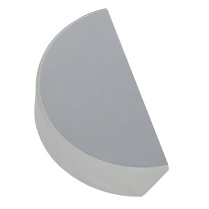PFD10-03-F01 - Ø1in UV-Enhanced Aluminum D-Shaped Mirror