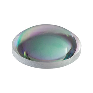 A240-C - f = 8.0 mm, NA = 0.5, Unmounted Rochester Aspheric Lens, AR: 1050-1620 nm