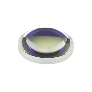 AL1512-B - Ø15 mm S-LAH64 Aspheric Lens, f=12 mm, NA=0.55, ARC: 650-1050 nm