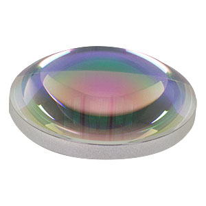 AL2520-C - Ø25 mm S-LAH64 Aspheric Lens, f=20 mm, NA=0.54, ARC: 1050-1700 nm