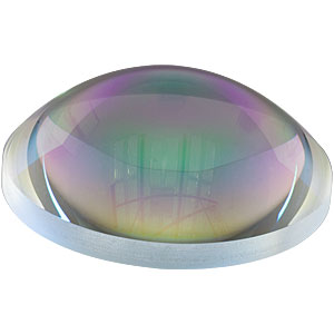 AL100100-C - Ø100 mm N-BK7 Aspheric Lens, f=100 mm, NA=0.47, ARC: 1050-1700 nm