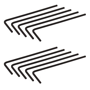 HK050 - 0.050in (1.3 mm) Hex Keys, 10 Pack