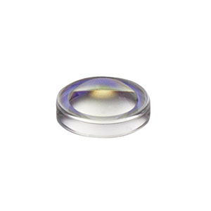 352140-B - f = 1.45 mm, NA = 0.55, Unmounted Geltech Aspheric Lens, AR: 600-1050 nm
