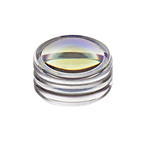352150-B - f = 2.0 mm, NA = 0.5, Unmounted Geltech Aspheric Lens, AR: 600-1050 nm