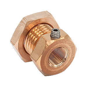N100L5P - Fine Phosphor-Bronze Locking Bushing with Nut, 3/16in-100