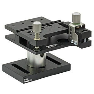 APR001 - Pitch and Roll Tilt Platform with Thumbscrew Drives