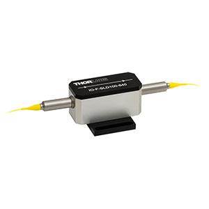 IO-F-SLD100-840 - Fiber Isolator, 790 - 890 nm, SM, 2 W, No Connectors