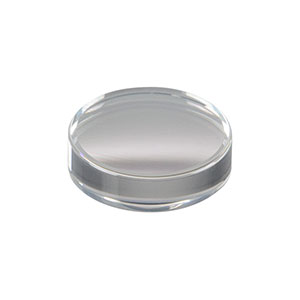 352280-1064 - f = 18.40 mm, NA = 0.15, Unmounted Geltech Aspheric Lens, AR: 1064 nm