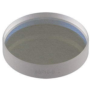 BSF10-B - Ø1in UVFS Beam Sampler for Beam Pick-Off, ARC: 650-1050 nm, 5 mm Thick