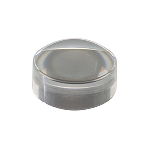 355660-A - f = 2.97 mm, NA = 0.60, Unmounted Geltech Aspheric Lens, AR: 400 - 600 nm