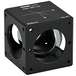 CM1-BP133 - 30 mm Cage Cube-Mounted Pellicle Beamsplitter, 33:67 (R:T), 635 nm