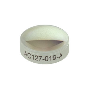 AC127-019-A - f = 19 mm, Ø1/2in Achromatic Doublet, ARC: 400 - 700 nm
