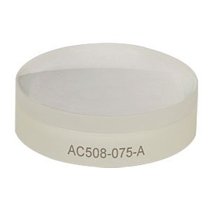 AC508-075-A - f = 75 mm, Ø2in Achromatic Doublet, ARC: 400 - 700 nm