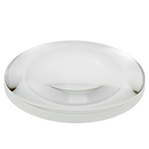 AL75150-A - Ø75 mm N-BK7 Aspheric Lens, f=150 mm, NA=0.23, ARC: 350-700 nm