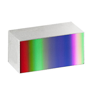 GR1325-30035 - Ruled Reflective Diffraction Grating, 300/mm, 3.5 µm Design Wavelength, 12.5 x 25.0 x 9.5 mm