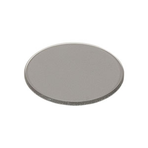 ND04B - Unmounted Reflective Ø25 mm ND Filter, Optical Density: 0.4