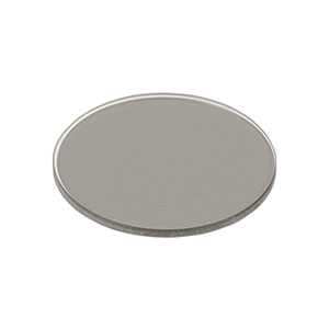 ND06B - Unmounted Reflective Ø25 mm ND Filter, Optical Density: 0.6