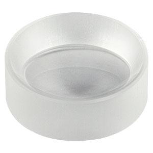 "LF5414 - Ø1"" CaF<sub>2</sub> Negative Meniscus Lens, f = -50.0 mm, Uncoated"