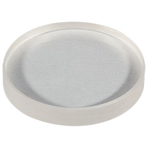 "LF5807 - Ø1"" CaF<sub>2</sub> Negative Meniscus Lens, f = -750.0 mm, Uncoated"